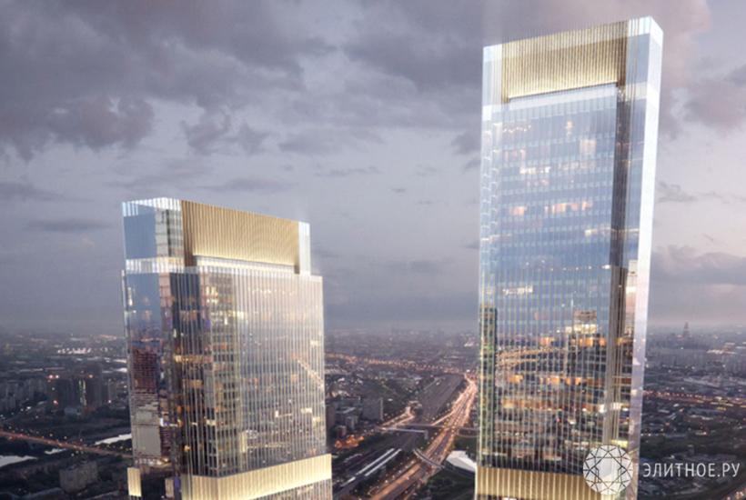 Комплекс «Москва-Сити» пополнится 2-мя новыми небоскрёбами