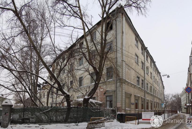 Московские власти повторно выставили наторги дом наЧистых прудах