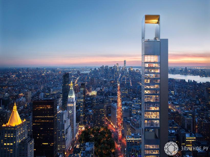Компания Бориса Кузинца построит небоскреб вНью-Йорке