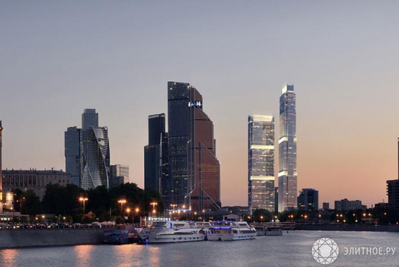 Половина продаж в элитном сегменте приходится на «Москва-Сити»