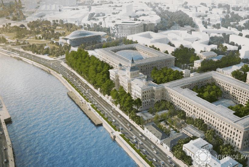 Стали известны претенденты напокупку зданий наМоскворецкой набережной