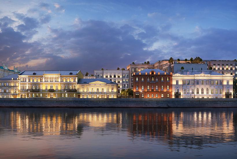Девелопер Capital Group открыл продажи в квартале «Золотой» напротив Кремля
