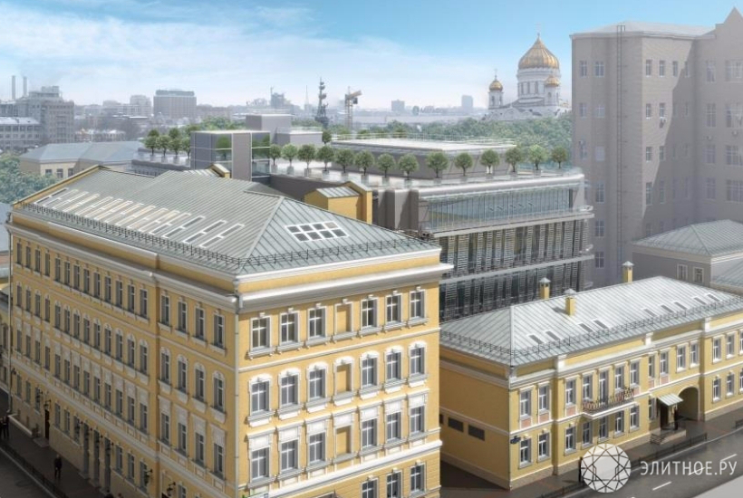 Крупный МФК построят на«Золотом острове» вцентре Москвы