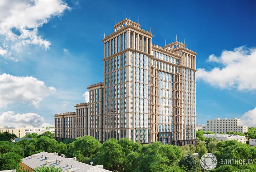 Жилой комплекс «Суббота» как возвращение «большого стиля»